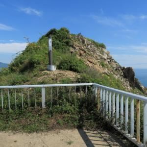 崖にはチャシ跡