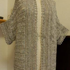 編み物に夢中になる節約ばあちゃんの限りない努力・・・