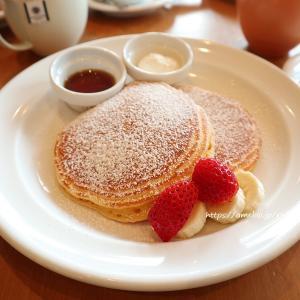エッグベネディクトとパンケーキ!ハーフサイズランチ♡Sarabeth's