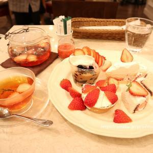 苺3倍♡Happy Strawberry's Day 苺のアフタヌーンティーセット
