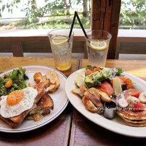 ウイークデーランチ♡j.s. pancake cafe