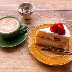 苺のショートケーキ♡ア・ラ・カンパーニュ