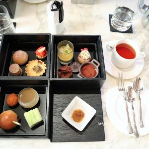 AFTRENOON TEA BOX♡BVLGARI Il  Bar