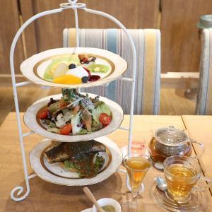 アフタヌーンティー♡銀座のカフェビストロ森のテーブル