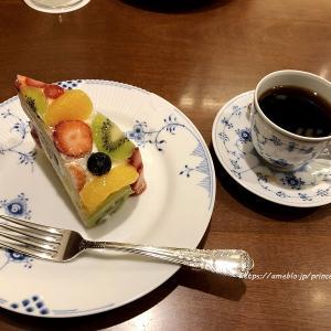 彩りフルーツの贅沢ズコット♡椿屋カフェ