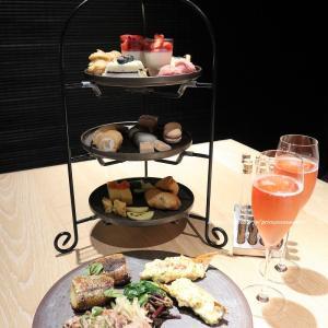 苺と桜のアフタヌーンハイティー♡ミレニアム三井ガーデンホテル東京 現代里山料理ZEN HOUSE