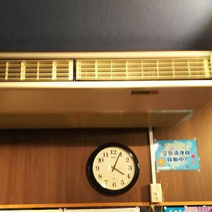 当店1階ホールの大空気清浄機(^_^)vフィルター
