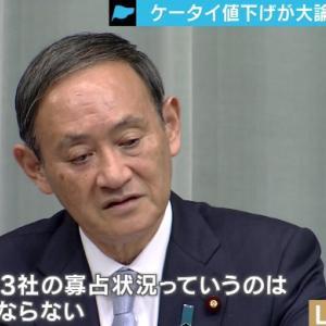 携帯新料金プランに菅氏落胆、 「総務省はなめられてる」