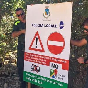 観光客が相次いで立ち往生、「グーグルマップ」不使用呼びかけ イタリア