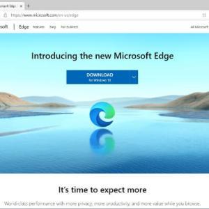 新しい「Microsoft Edge」がプレビューを卒業 ~Windows/Mac向け正式版のダウンロード提供が開始