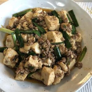 今日の昼ご飯 麻婆豆腐