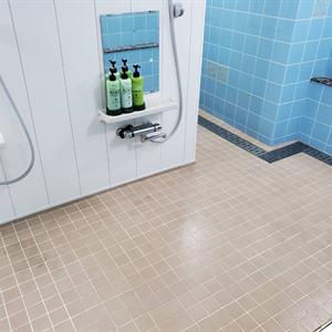 シャワー室を綺麗に