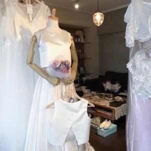 台風一過 ウェディングドレスの販売