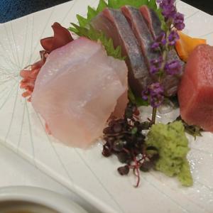 茜月の日本料理で至福の時を過ごした