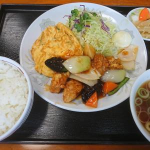 中華料理ひよどりで酢豚のランチを食べたのは4か月も前