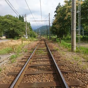 富山地鉄立山線横江駅は尖山の登山口