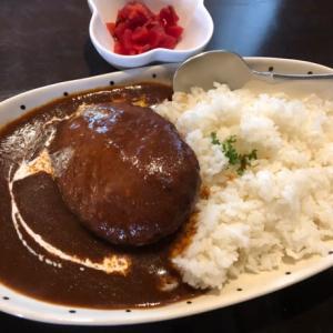 磯子区 クックハウスのハンバーグ欧風ビーフカレー