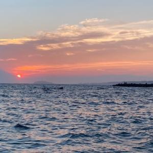 久々の海~!