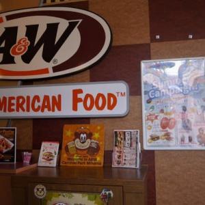 沖縄にしかないファストフード店 A&W