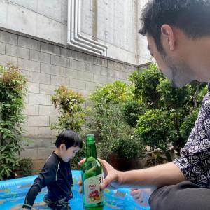 ★妻が飲みに行った日に、小さい息子に何と言うか?
