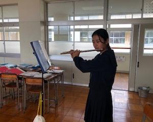 下関市立C中学校吹奏楽部フルートパート指導日記【2020年10月編】