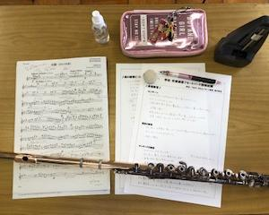 下関市立某中学校吹奏楽部フルートパート指導日記【2021年4月編】