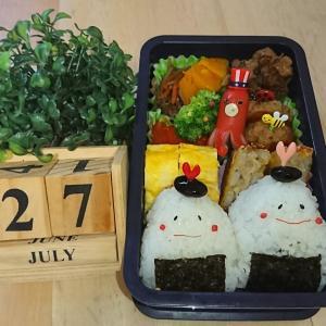 2020.7.27 今日のお弁当 & 明智光秀VS織田信長