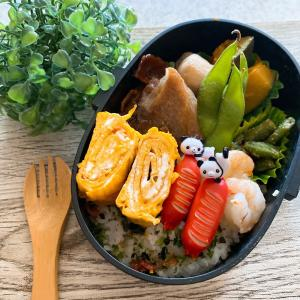 2021.8.21 今日のお弁当 と シフォンケーキ