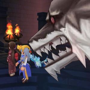 【ラグマス】カタコン2Fに雅人形を連れてくと石化攻撃に対応してくれてとてもいい感じでした(∩´∀`)∩ @きぃ