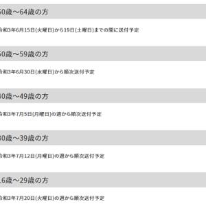 世田谷区で64歳以下の接種が始まります!!
