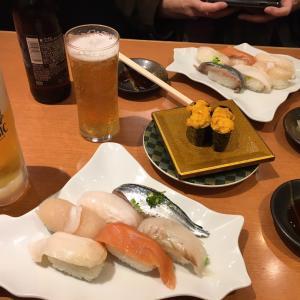 北々亭でお寿司