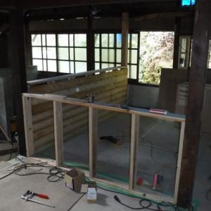 水周り進捗状況 キッチン