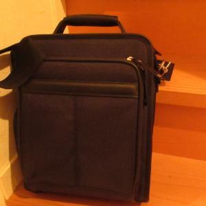 新しい鞄が届きました。