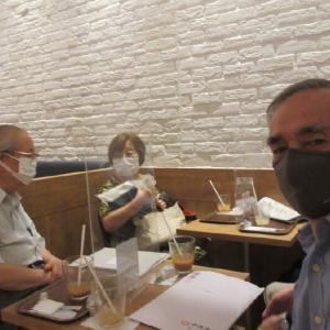 世田谷区白門会の「会計監査」をしました。