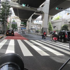 パラリンピック開会式で交通規制。