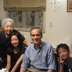 高崎から孫たちがやって来た。