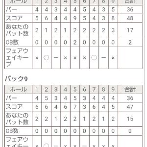 会員権取得ラウンド 後半戦
