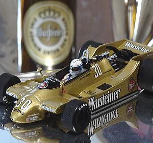 昨日発売F1マシンコレクション73号はマス選手のアロウズA2だがミニチャンプスで