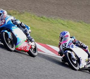 J-GP3レディースライダー 岡崎静夏選手/白石玲菜選手/三好菜摘選手 全日本ロードレース最終戦