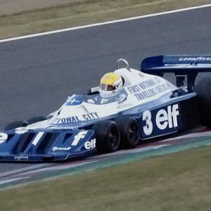 6輪F1・Tyrrell P34が鈴鹿を走る サウンド・オブ・エンジン 走行動画