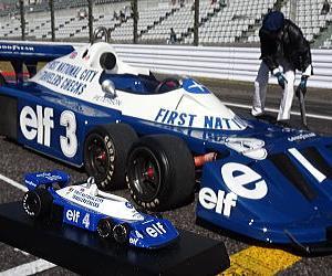 6輪F1鈴鹿を走る タイレルP34とピエルルイジ・マルティニ氏 鈴鹿サウンド・オブ・エンジン
