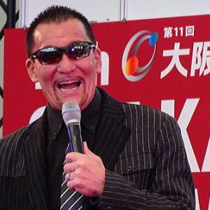蝶野正洋氏スペシャルサポーター 大阪モーターショー2019に行って来た