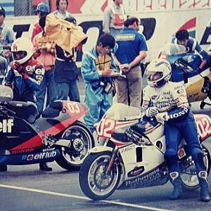 WGPがやってきた 富士スーパースプリント1986 500ccレース1