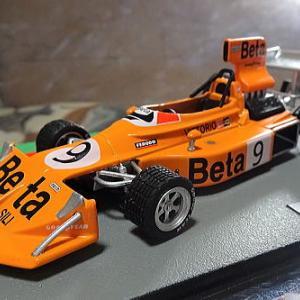 先週発売F1マシンコレクション85号 「雨の魔術師」がドライブしたBetaマーチ751