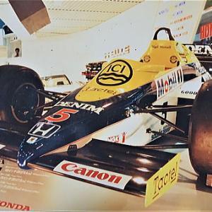 1985年 初めての東京モーターショーは広かった 世界で活躍4輪レーシングマシン編
