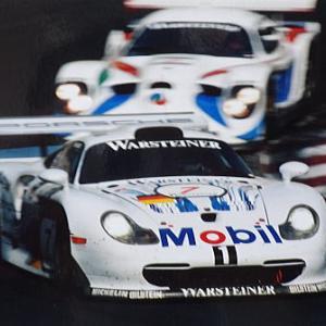 ポルシェ・ワークスも参戦 1997鈴鹿1000㌔ 2位メルセデスGLK