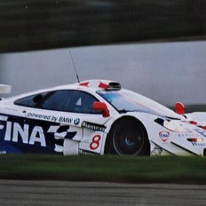 J.J.レート選手とマクラーレン勢 & GT2 '97鈴鹿1000㌔