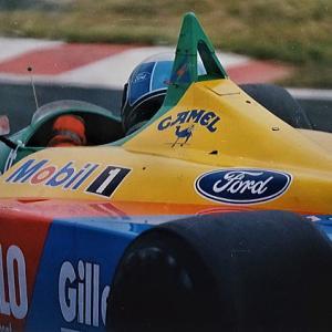 応援していたナニーニ選手 初優勝 '89F1日本GP ベネトン