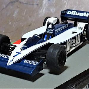先週発売F1マシンコレクション98号 パトレーゼ選手のブラバムBT55/BMW