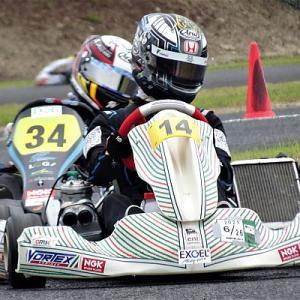 カートOK CHAMP レーシングドライバーに戻った大湯都史樹選手